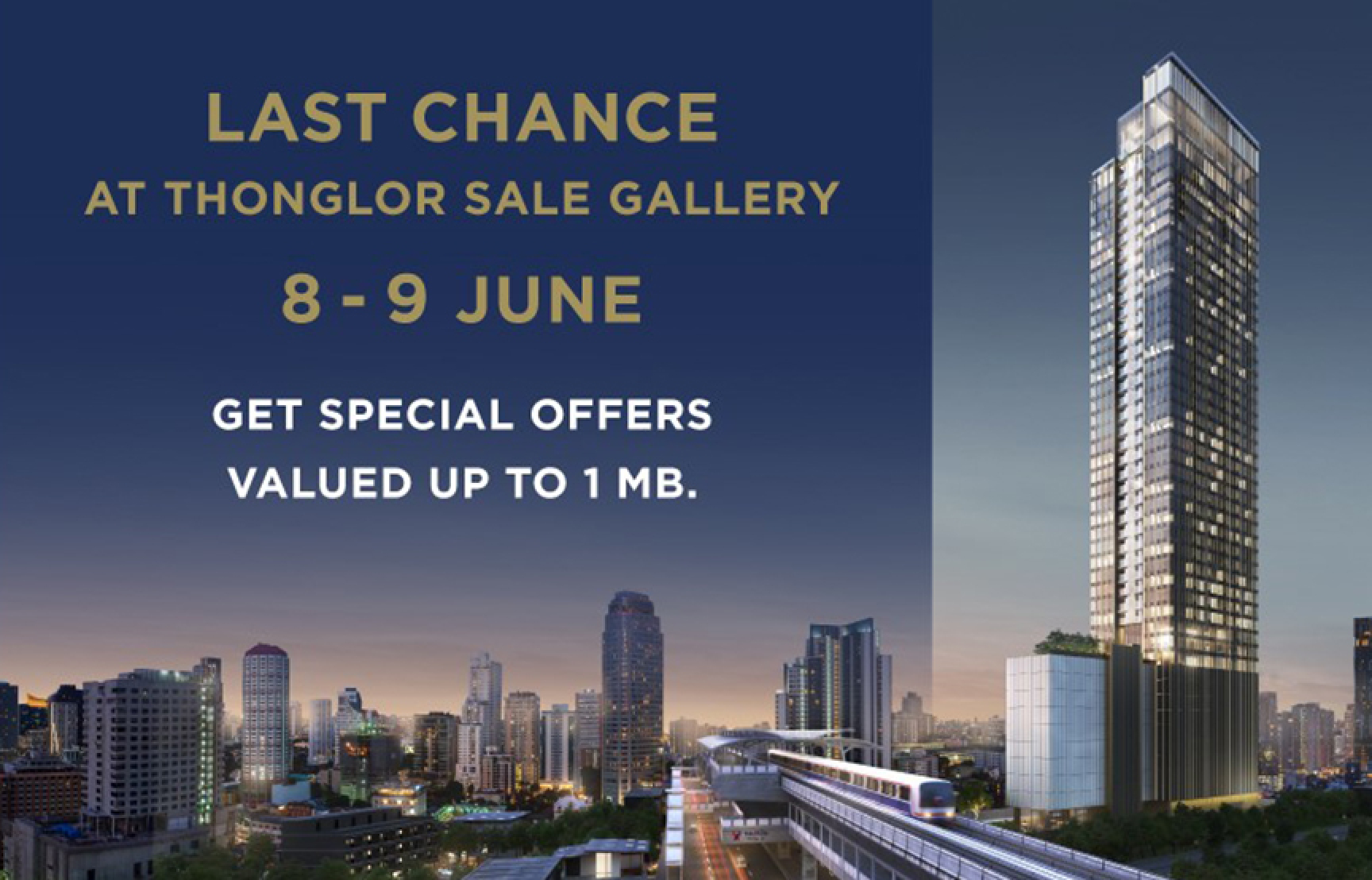 LAST CHANCE PROMOTION (24 MAY – 9 JUNE)