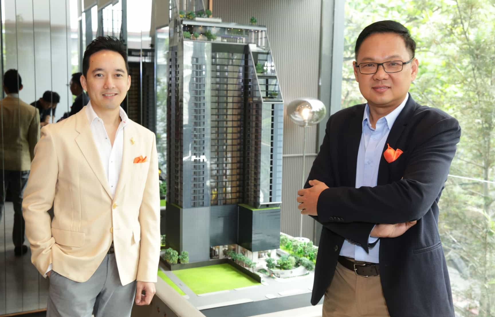 "Singha Estate penetrates the Rangnam area and launches its new branded condominium ""The EXTRO Phayathai-Rangnam"" worth 4 billion baht, targeting younger generation"