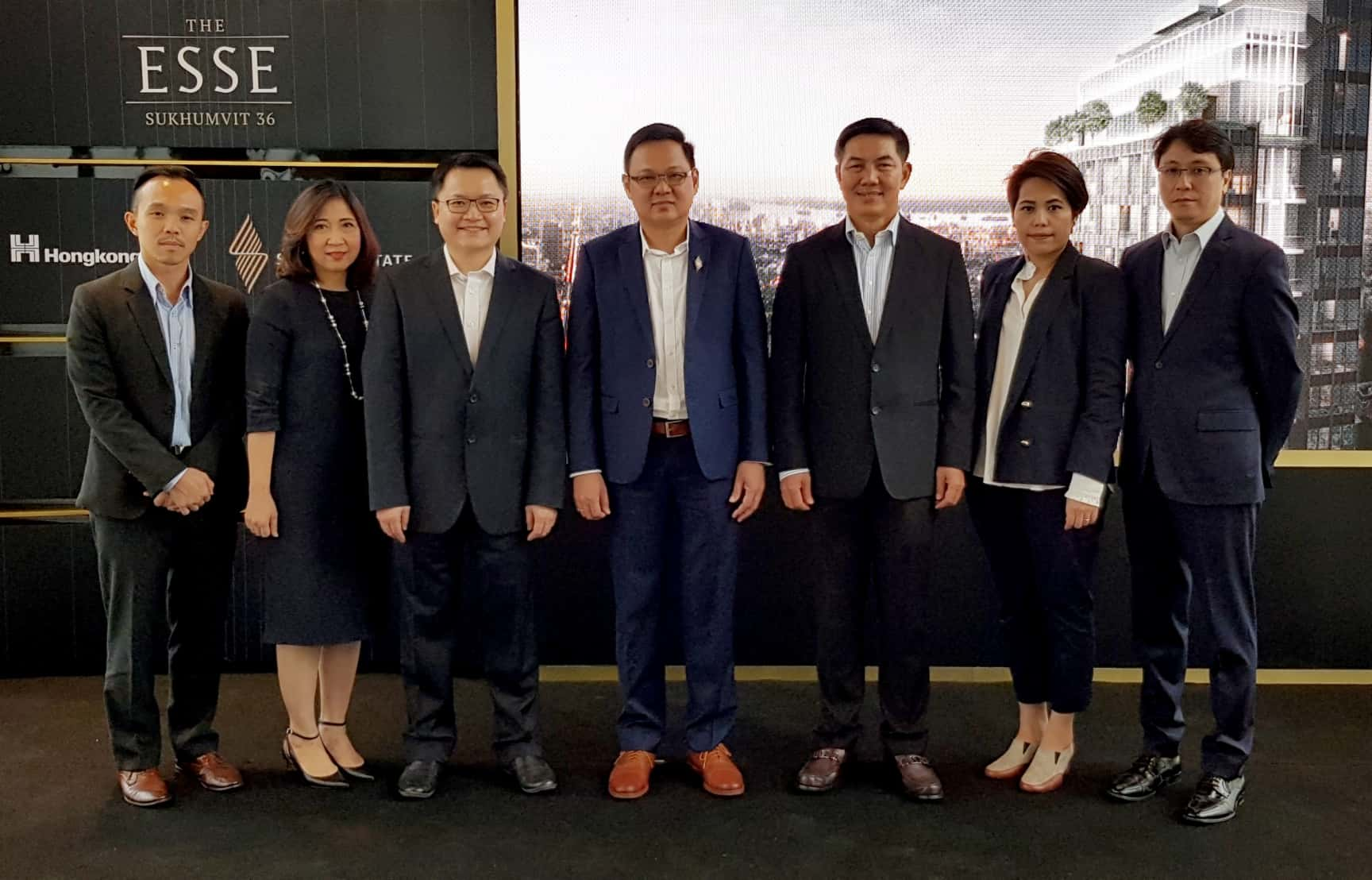 "Singha Estate unveils ""THE ESSE SUKHUMVIT 36""  luxury high-rise residential development in Thonglor"