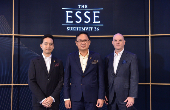 "Singha Estate Reckons on Opportunities in Luxury Condominium Segment, Revealing Newly Completed ""The ESSE Sukhumvit 36"" Condominium"