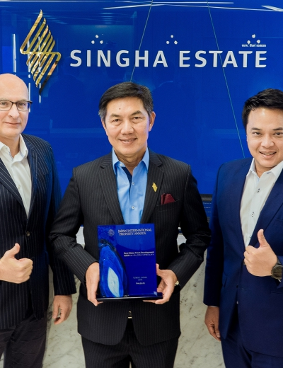 Singha Estate's CROSSROADS Takes Home Japan International Property Awards 2018