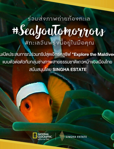 "Singha Estate Unveils ""SeaYouTomorrow: The Future of The Ocean is in Your Hands"" in Support of the Public Sector and to Raise People Awareness on World Oceans Day"