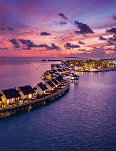 SAii LAGOON MALDIVES <BR> CURIO COLLECTION BY HILTON