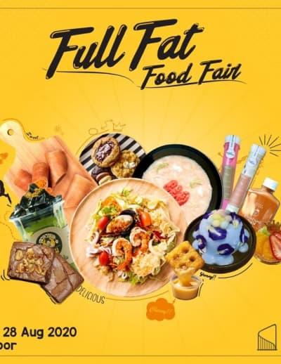 """""""สิงห์ คอมเพล็กซ์"""" จัดงาน """"Full Fat Food Fair"""" การันตีความอร่อย คัดสรรค์อาหารคาว-หวานมาให้เลือกช้อปกันแบบจุใจ"""