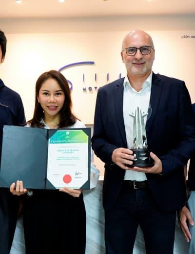 """""""เอส โฮเทล แอนด์ รีสอร์ท"""" คว้ารางวัลจากงาน Asia Responsible Enterprise Awards 2020 สาขาผู้นำด้านสิ่งแวดล้อม"""