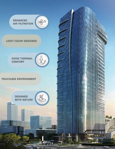 เอส โอเอซิส ชูเอกลักษณ์อาคารสำนักงานอัจฉริยะ และเป็นมิตรกับสิ่งแวดล้อม มุ่งเป้าสู่การเป็น Sustainable Office ชั้นนำของไทย